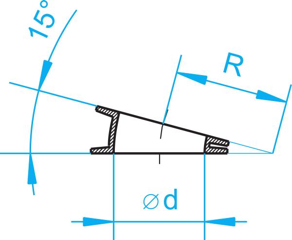 Cast-iron segments 15°-0
