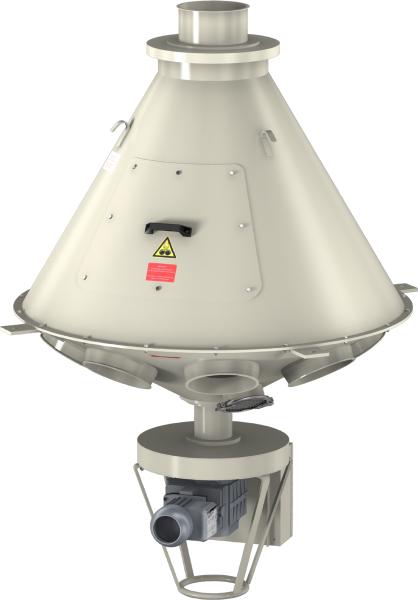 Turn-head distributors 60° dust-tight version -0