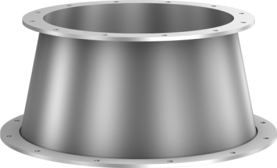 Cone pieces, with loose flange / welded-on flange on one side-0