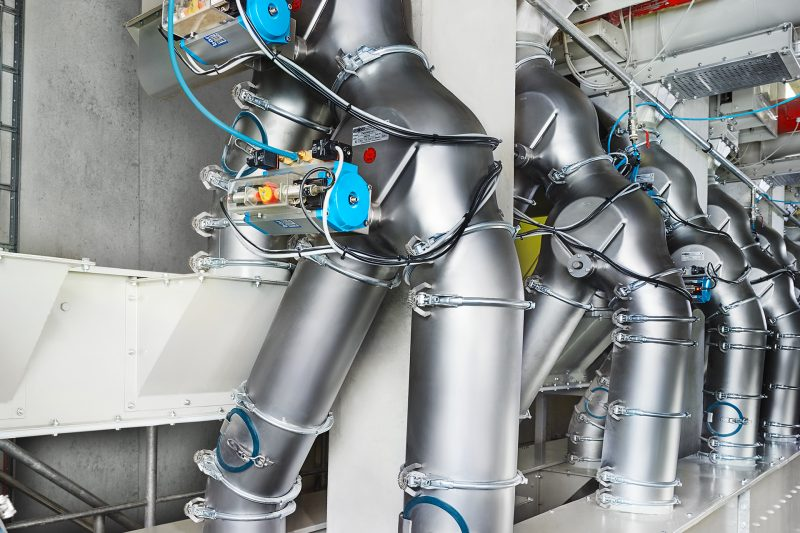 Jacob Pipework application bulk good handling